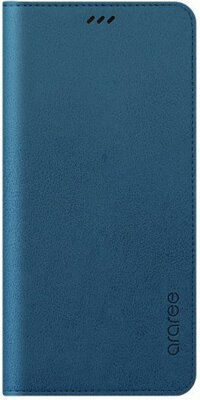 Чохол Araree Flip Wallet Leather Cover Ash Blue для Galaxy А8+ (2018) A730 1