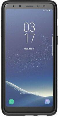 Чехол Araree Silicon Cover Black для Galaxy А8+ (2018) A730 2