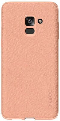 Чехол Araree Silicon Cover Pink для Galaxy А8+ (2018) A730 1