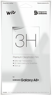 Захисна плівка Wits Film 3H Clear для Galaxy A8+ (2018) A730 1