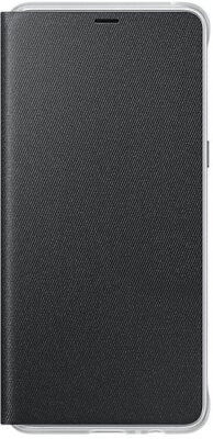 Чехол Samsung Neon Flip Cover Black для Galaxy А8+ (2018) A730 1