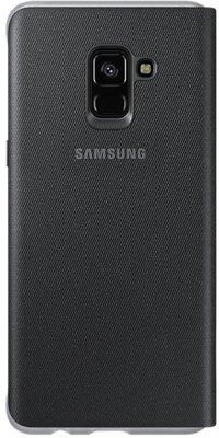 Чехол Samsung Neon Flip Cover Black для Galaxy А8+ (2018) A730 2