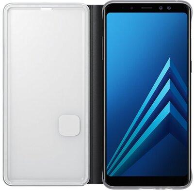 Чехол Samsung Neon Flip Cover Black для Galaxy А8+ (2018) A730 4
