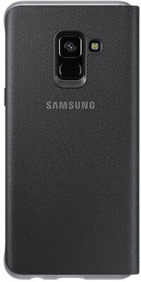 Чохол Samsung Neon Flip Cover Black для Galaxy А8 (2018) A530 2