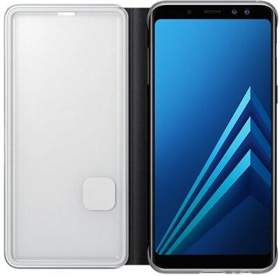 Чохол Samsung Neon Flip Cover Black для Galaxy А8 (2018) A530 3
