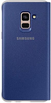 Чохол Samsung Neon Flip Cover Blue для Galaxy А8 (2018) A530 2