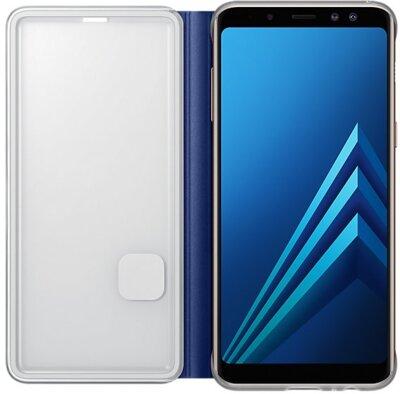 Чохол Samsung Neon Flip Cover Blue для Galaxy А8 (2018) A530 4