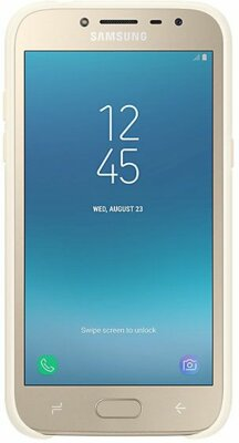 Чохол Samsung Dual Layer Cover Gold для Galaxy J2 (2018) J250 3