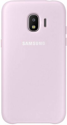 Чехол Samsung Dual Layer Cover Pink для Galaxy J2 (2018) J250 1