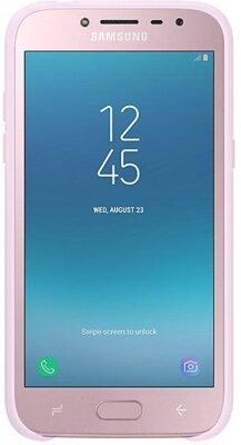 Чехол Samsung Dual Layer Cover Pink для Galaxy J2 (2018) J250 3