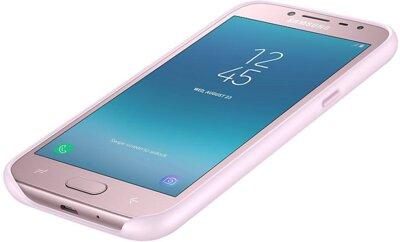 Чехол Samsung Dual Layer Cover Pink для Galaxy J2 (2018) J250 9