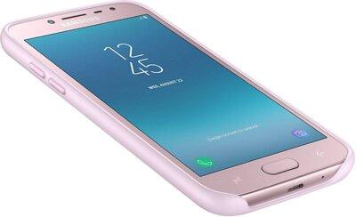 Чехол Samsung Dual Layer Cover Pink для Galaxy J2 (2018) J250 10