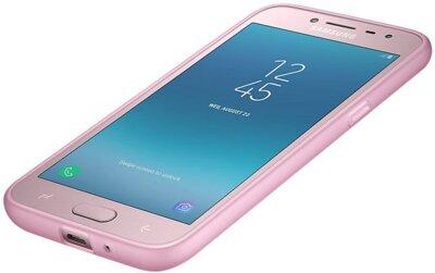 Чехол Samsung Jelly Cover Pink для Galaxy J2 (2018) J250 9