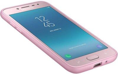 Чехол Samsung Jelly Cover Pink для Galaxy J2 (2018) J250 10