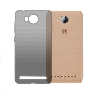 Чехол GlobalCase TPU Extra Slim для Huawei Y3 2017 Dark 1