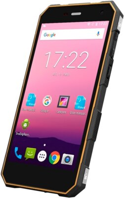 Смартфон Sigma X-treme PQ28 Black-Orange 3