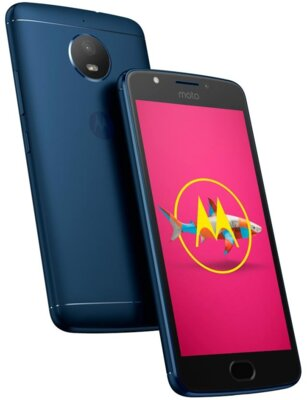 Смартфон Motorola Moto E (XT1762) Oxford Blue 4