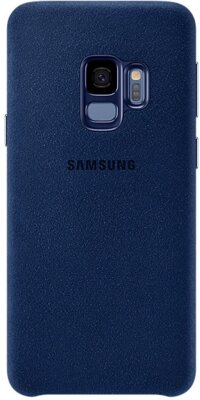 Чехол Samsung Alcantara Cover Blue для Galaxy S9 G960 1