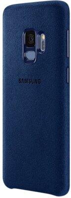 Чехол Samsung Alcantara Cover Blue для Galaxy S9 G960 2