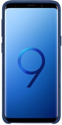 Чехол Samsung Alcantara Cover Blue для Galaxy S9 G960 3