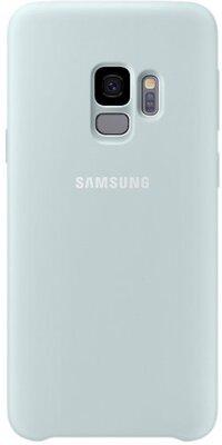 Чехол Samsung Silicone Cover Blue для Galaxy S9 G960 1