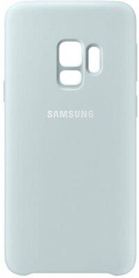 Чехол Samsung Silicone Cover Blue для Galaxy S9 G960 2