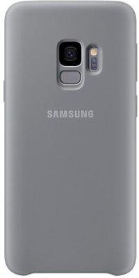 Чехол Samsung Silicone Cover Gray для Galaxy S9 G960 1