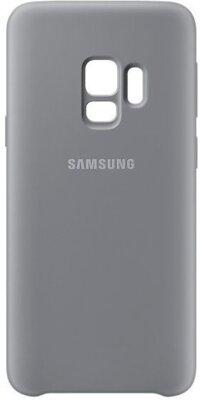 Чехол Samsung Silicone Cover Gray для Galaxy S9 G960 2