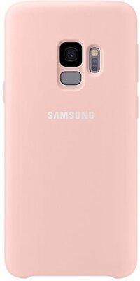 Чехол Samsung Silicone Cover Pink для Galaxy S9 G960 1