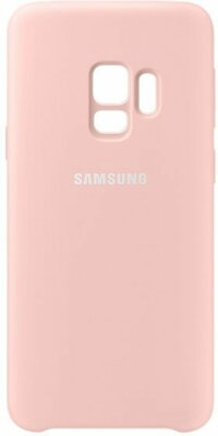 Чехол Samsung Silicone Cover Pink для Galaxy S9 G960 2