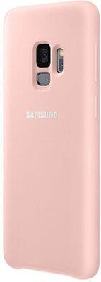 Чехол Samsung Silicone Cover Pink для Galaxy S9 G960 3