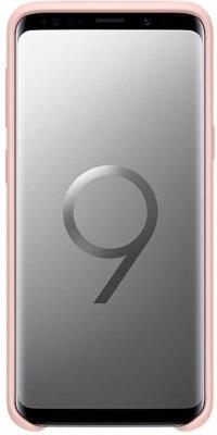 Чехол Samsung Silicone Cover Pink для Galaxy S9 G960 5