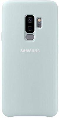 Чехол Samsung Silicone Cover Blue для Galaxy S9+ G965 1
