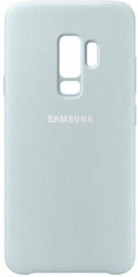 Чехол Samsung Silicone Cover Blue для Galaxy S9+ G965 2