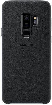 Чохол Samsung Alcantara Cover Black для Galaxy S9+ G965 1