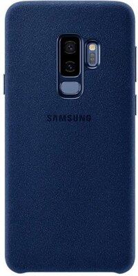 Чехол Samsung Alcantara Cover Blue для Galaxy S9+ G965 1