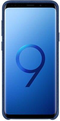 Чехол Samsung Alcantara Cover Blue для Galaxy S9+ G965 3