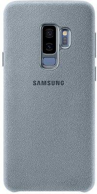 Чехол Samsung Alcantara Cover Mint для Galaxy S9+ G965 1