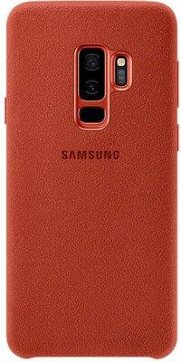 Чохол Samsung Alcantara Cover Red для Galaxy S9+ G965 1