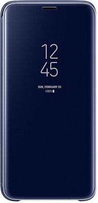 Чохол Samsung Clear View Standing Cover Blue для Galaxy S9 G960 1