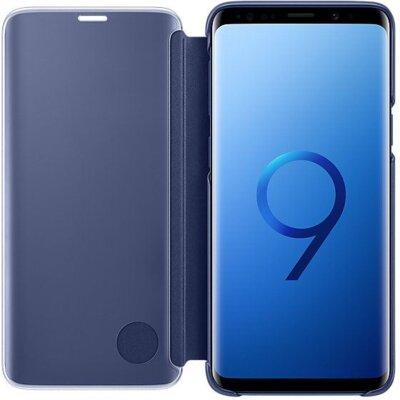Чохол Samsung Clear View Standing Cover Blue для Galaxy S9 G960 3