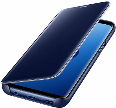 Чохол Samsung Clear View Standing Cover Blue для Galaxy S9 G960 4
