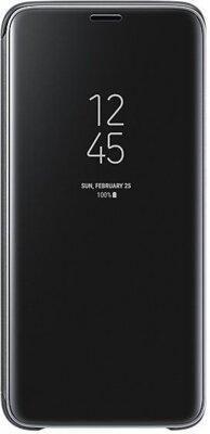 Чохол Samsung Clear View Standing Cover Black для Galaxy S9 G960 1