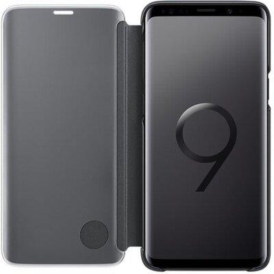 Чохол Samsung Clear View Standing Cover Black для Galaxy S9 G960 3