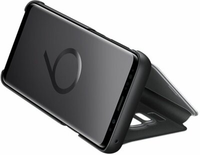 Чохол Samsung Clear View Standing Cover Black для Galaxy S9 G960 5