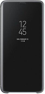 Чохол Samsung Clear View Standing Cover Black для Galaxy S9+ G965 1