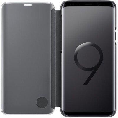 Чохол Samsung Clear View Standing Cover Black для Galaxy S9+ G965 3