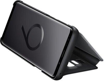 Чохол Samsung Clear View Standing Cover Black для Galaxy S9+ G965 5