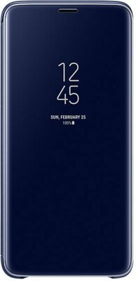 Чохол Samsung Clear View Standing Cover Blue для Galaxy S9+ G965 1