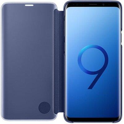 Чохол Samsung Clear View Standing Cover Blue для Galaxy S9+ G965 3